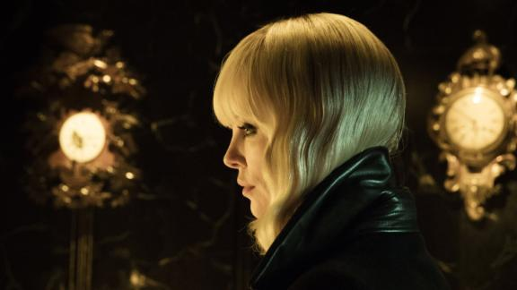 """<strong>""""Atomic Blonde""""</strong>: Charlize Theron stars as an undercover MI6 agent during the Cold War who must investigate the murder of a fellow agent and recover a missing list of double agents before it's too late. <strong>(HBO Now)</strong>"""