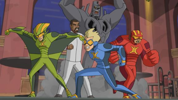 """<strong>""""Stretch Armstrong; The Breakout""""</strong>: This adventure follows Jake Armstrong and his best friends after they are unexpectedly transformed into superheroes.<strong> (Netflix) </strong>"""