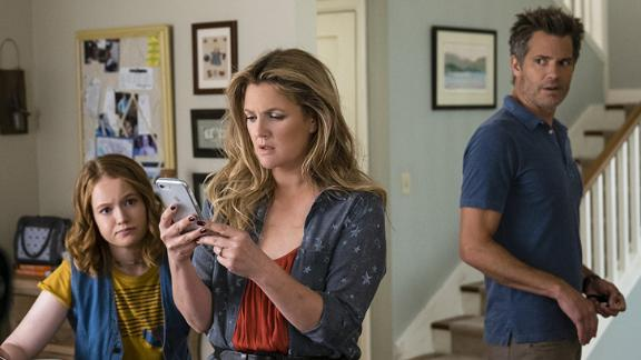 """<strong>""""Santa Clarita Diet"""" Season 2</strong>: Drew Barrymore and Timothy Olyphant return to helm the series about a family trying to deal with having a zombie in the house. <strong>(Netflix) </strong>"""