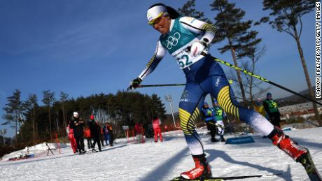 Charlotte Kalla is one of the stars of Sweden's cross-country team, winning gold in Pyeongchang.