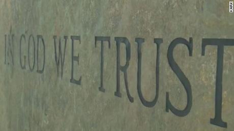 "Louisiana law requires the words ""In God We Trust"" to be displayed at all public schools."
