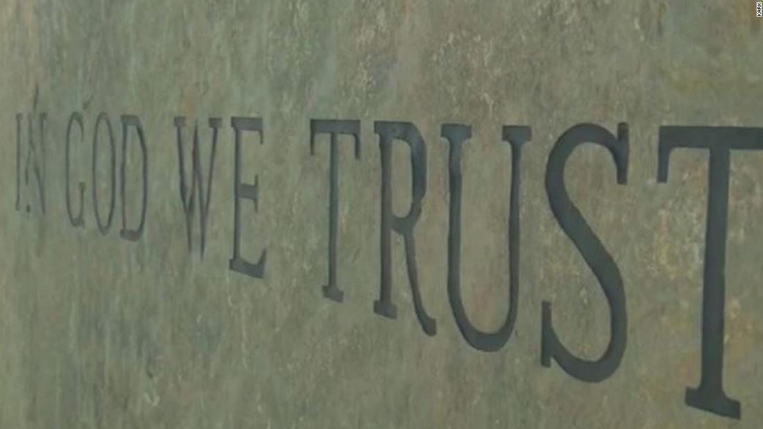 Florida lawmakers advance a bill that requires 'In God We Trust' displayed on school grounds