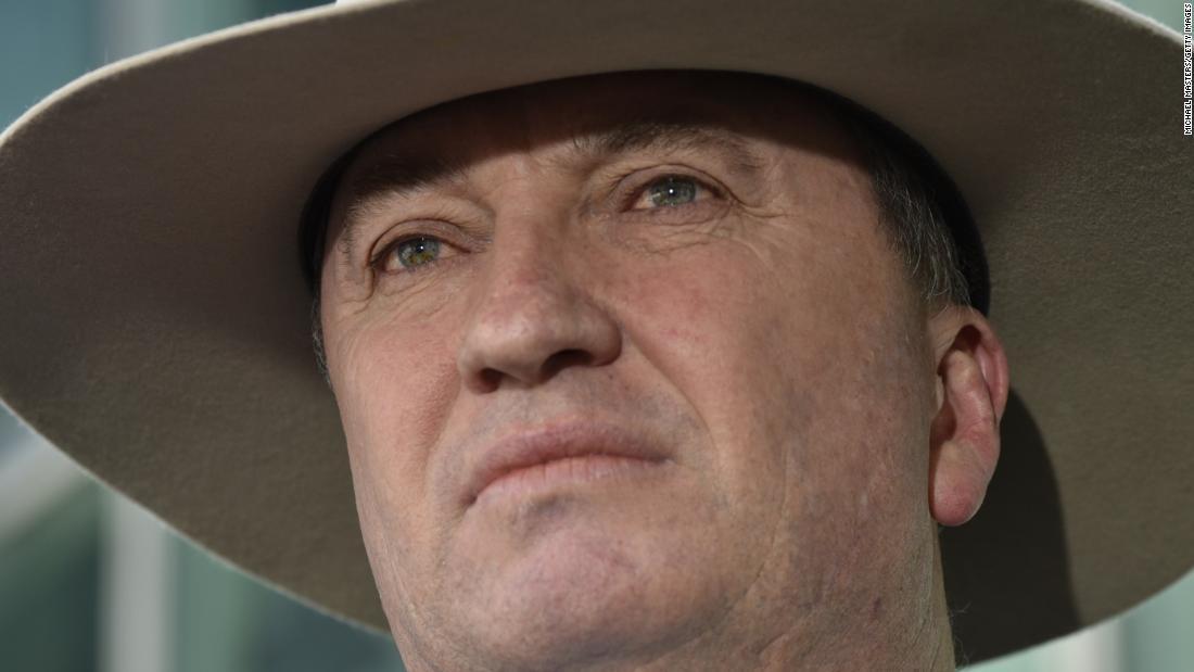 Deputy Australian Prime Minister Barnaby Joyce resigns over sex scandal