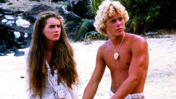 """<strong>""""The Blue Lagoon"""":</strong> Brooke Shield and Christopher Atkins star as a pair of kids who come into adolescence after they are shipwrecked alone on a tropical island. <strong>(Amazon Prime) </strong>"""