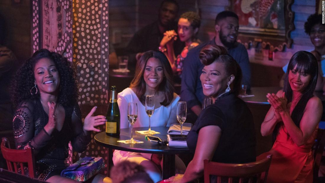"<strong>""Girls Trip""</strong>: Tiffany Haddish, Regina Hall, Queen Latifah and Jada Pinkett Smith head to the Essence Music Festival in New Orleans for some fun in this romp that became a breakout hit. <strong>(HBO Now) </strong>"