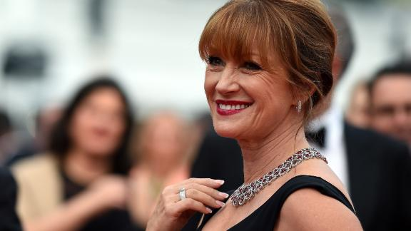 "CANNES, FRANCE - MAY 14:  Actress Jane Seymour attends Premiere of ""Mad Max: Fury Road"" during the 68th annual Cannes Film Festival on May 14, 2015 in Cannes, France.  (Photo by Ben A. Pruchnie/Getty Images)"