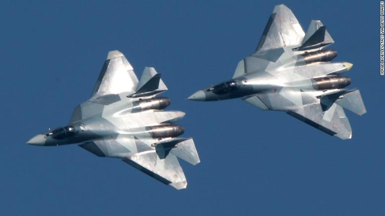 Russia's most advanced fighter arrives in Syria (edition.cnn.com)