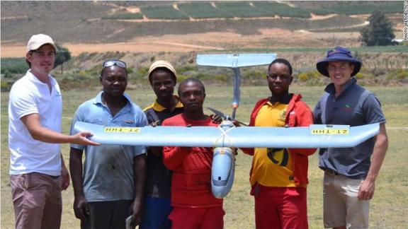 In South Africa, drone startup Aerobotics provides bird
