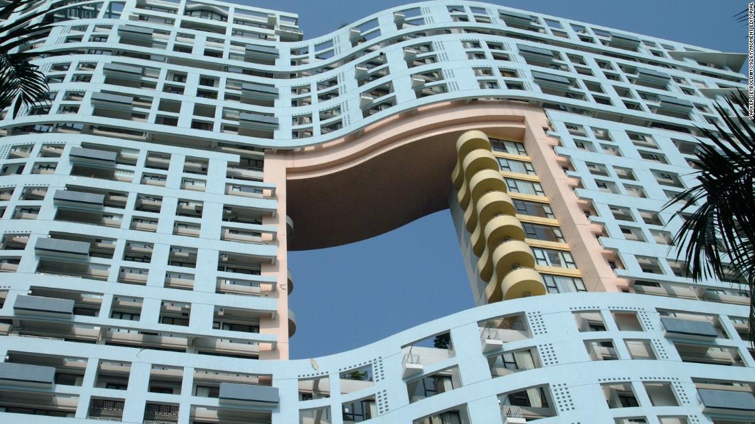 Why Hong Kong high-rises have holes