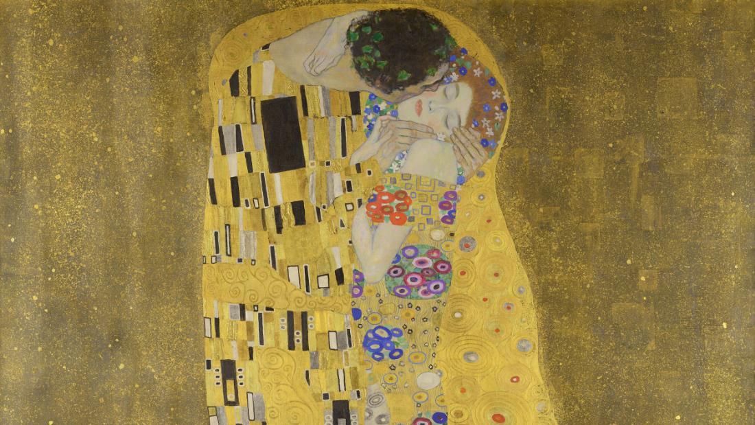 The Legacy Of Gustav Klimt And His Enduring Kiss Cnn Style