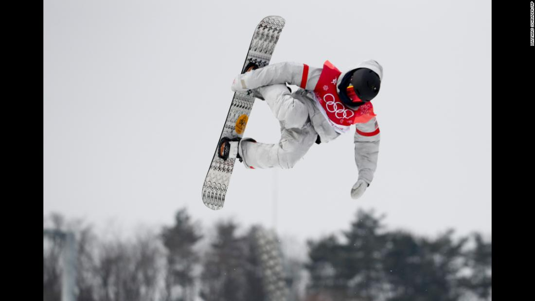 American snowboarder Kyle Mack won silver in the big-air event.