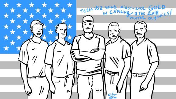 Team USA wins first men