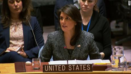 Haley: We are late to respond to Syrian crisis