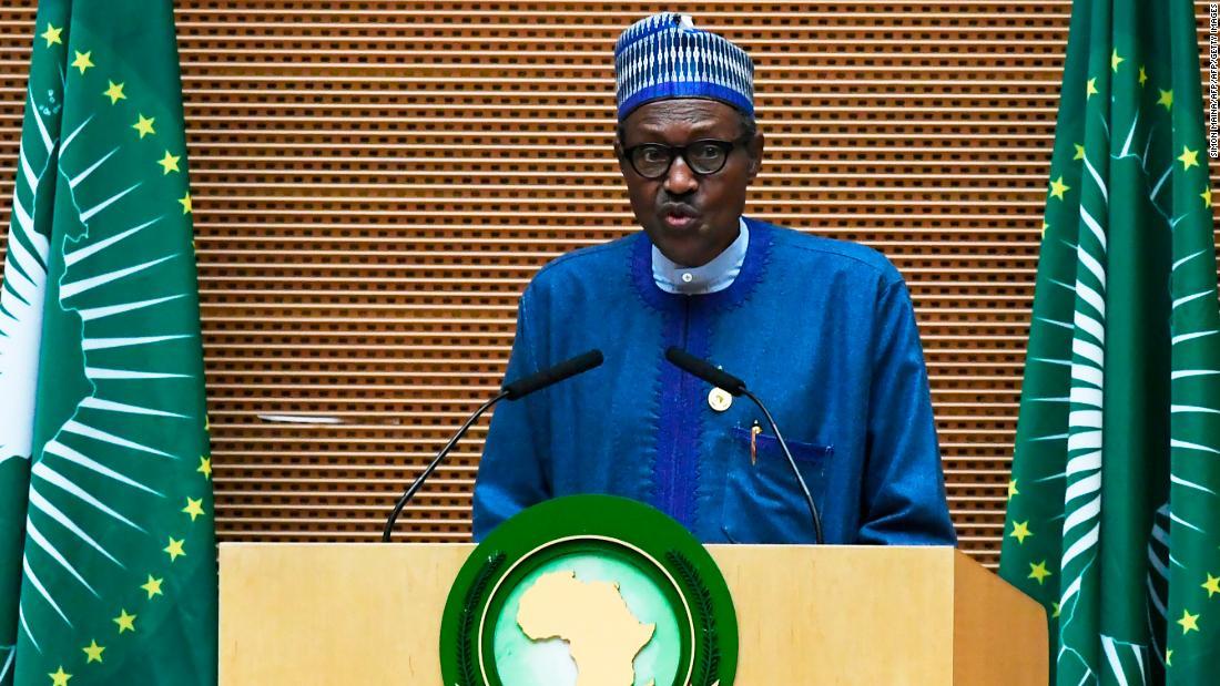 Nigeria's President Buhari to visit state where 110 schoolgirls were abducted