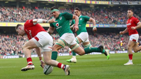 Wales ensured the result went down to the wire with a couple of second-half tries. Steff Evans scored in the 77th minute to put late pressure on Ireland.