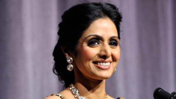 "Actress Sridevi Kapoor attends the ""English Vinglish"" premiere during the 2012 Toronto International Film Festival."
