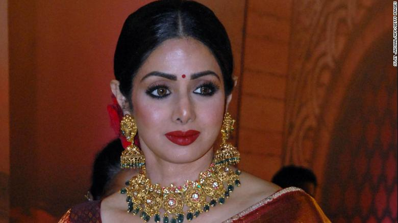Bollywood's Sridevi dies at the age of 54