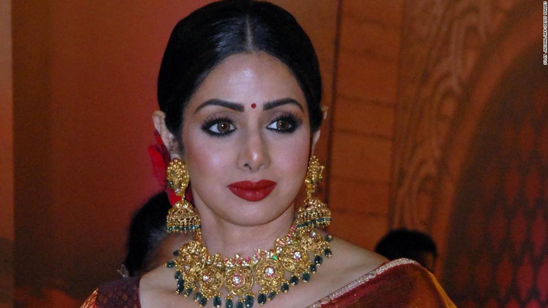 "Veteran Bollywood actress <a href=""https://www.cnn.com/2018/02/24/asia/sridevi-dies-bollywood-actress-intl/index.html"" target=""_blank"">Sridevi</a> was found dead in a hotel bathtub on February 24. Police in the United Arab Emirates ruled out any suggestion of foul play, and <a href=""https://www.cnn.com/2018/02/27/asia/sridevi-body-released-intl/index.html"" target=""_blank"">a forensics report</a> said the 54-year-old died from ""accidental drowning following loss of consciousness."""