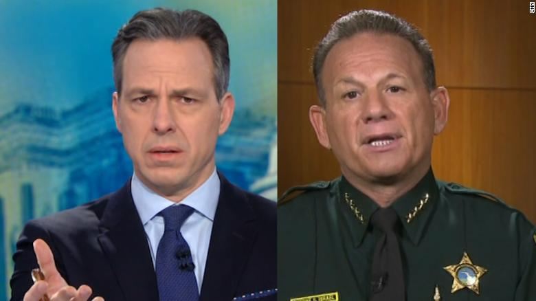 See Tapperu0027s Full Interview With Sheriff Israel