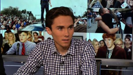 David Hogg Reliable Sources