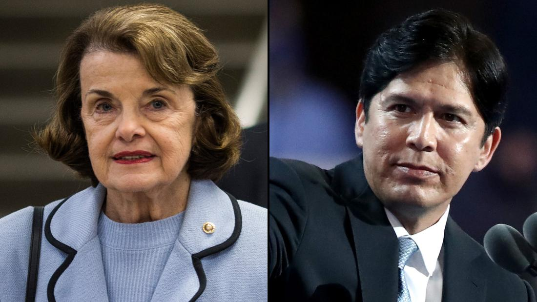 CA Dems endorse de León over incumbent Feinstein