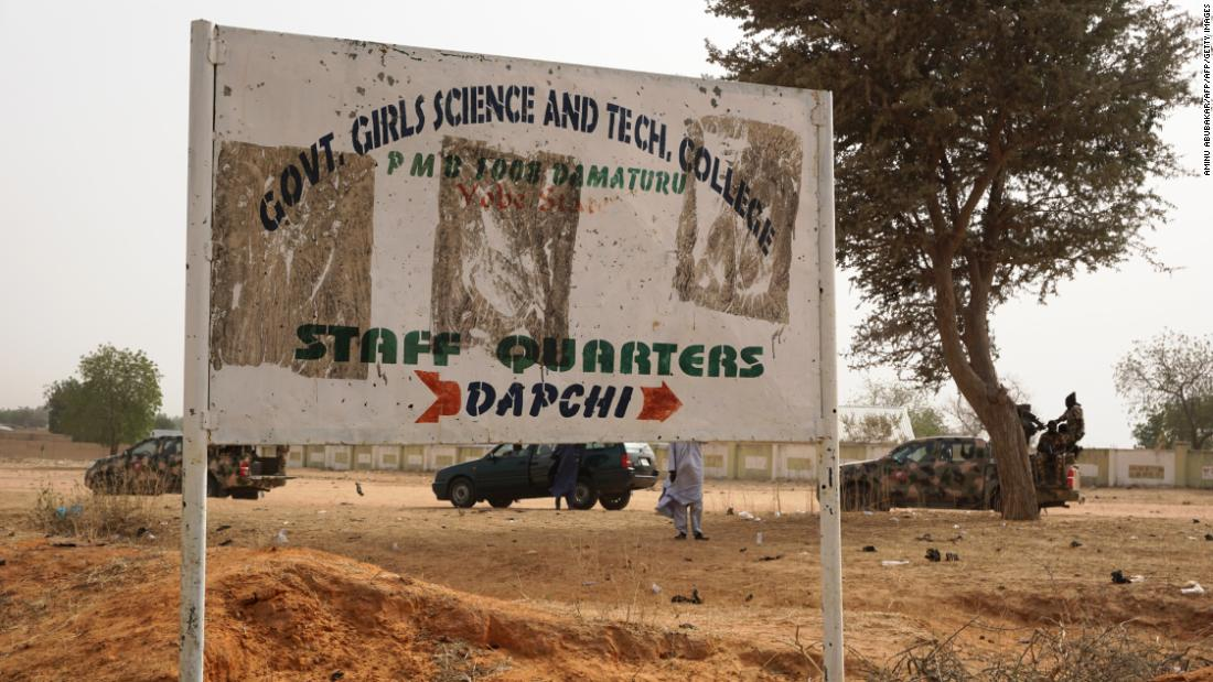 Nigeria identifies 110 girls missing after school raid