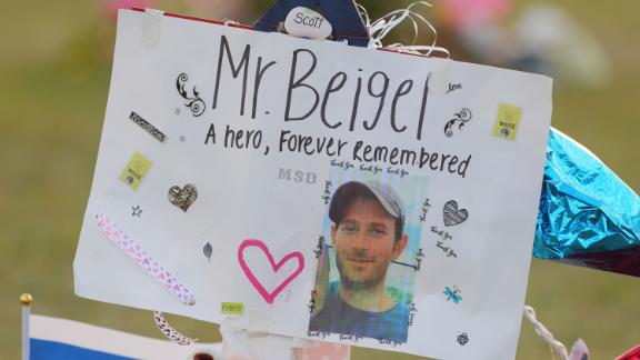 Scott Beigel, a Marjory Stoneman Douglas geography teacher and cross country coach, was killed in the Parkland school shooting in February 2018.