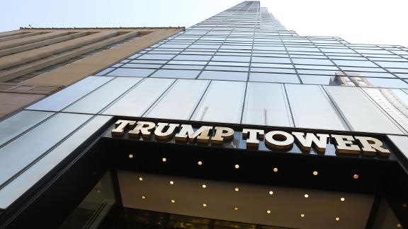 NEW YORK, NY - AUGUST 04:  Trump Tower stands in Manhattan on August 4, 2017 in New York City. Following a dispute with the Trump Organization over a lease, the Secret Service, which protects all US presidents, has moved to a small trailer on a side street outside of Trump Tower. The federal agency had been renting office space in Donald Trump