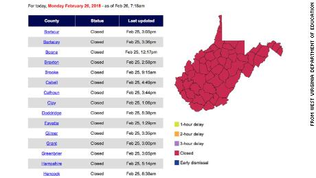 This Map Tells You All You Need To Know About The West Virginia
