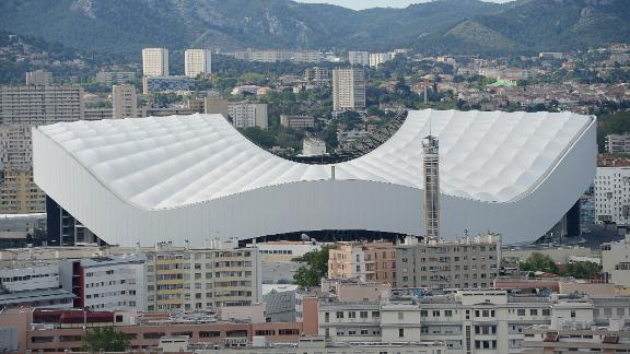 The match was played at the Stade Velodrome in Marseille -- the first time ever France has hosted a Six Nations game away from Paris.