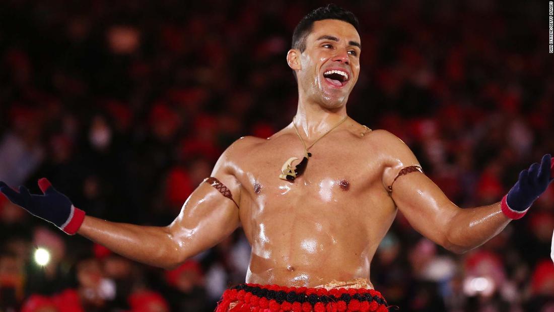 Pita Taufatofua, 'die Shirtless Tonga,' nur Qualifikation für seine Dritten Olympischen Spiele