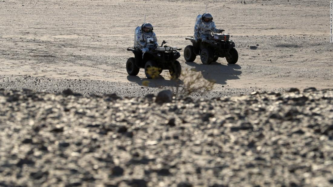 A soil assessment rover -- an autonomous robot that maps terrain -- and geophone devices which search for underground water sources are among the devices to be tested.<br />