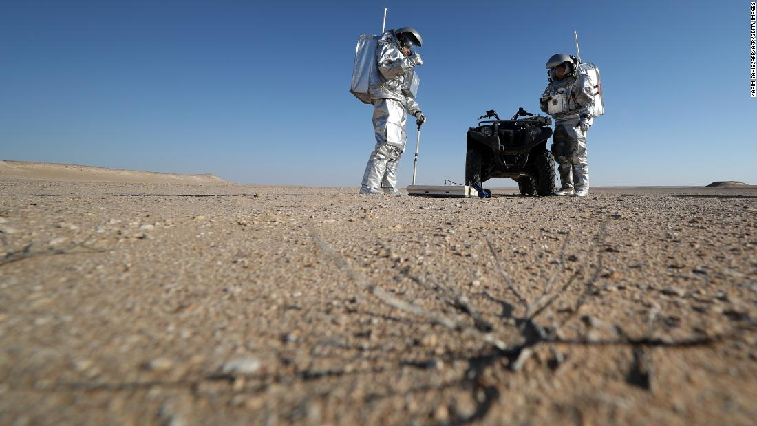 OeWF field commander, Gernot Groemer, said AMADEE-18 is about road-testing technologies and becoming familiar with the workflows the first human visitors to Mars will experience.<br />