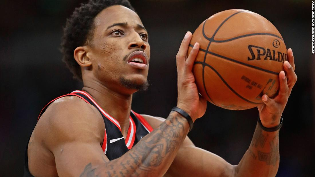 "DeMar DeRozan opened up about his depression last year, citing the pressures of being a professional athlete as part of the cause. ""You think when you ... make it to the NBA, all that bad stuff is supposed to be wiped clean,"" he told ESPN, ""but then this whole new dynamic loaded with stress comes your way."""