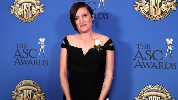 Rachel Morrison attends the 32nd Annual American Society Of Cinematographers Awards at The Ray Dolby Ballroom at Hollywood & Highland Center on February 17, 2018 in Hollywood, California.