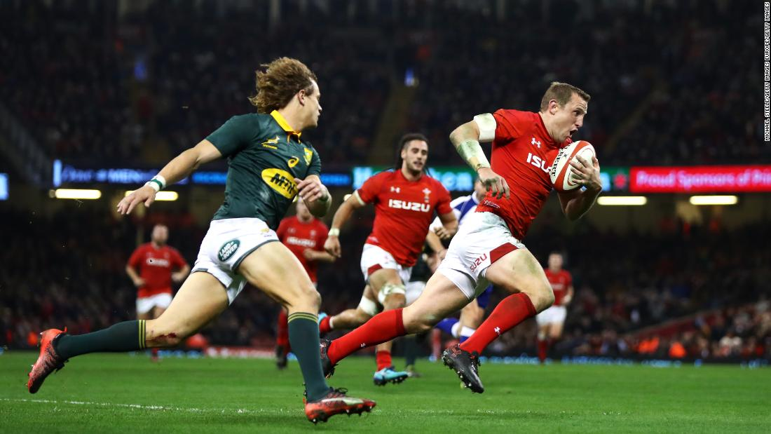 In June, Wales and South Africa, seen here playing a test match in December last year, will face each other at the 46,000-capacity Washington venue.