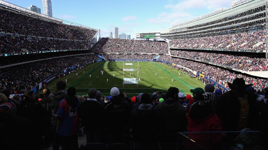 1f37c39430 Soldier Field was also packed out when New Zealand took on USA in November  2014.