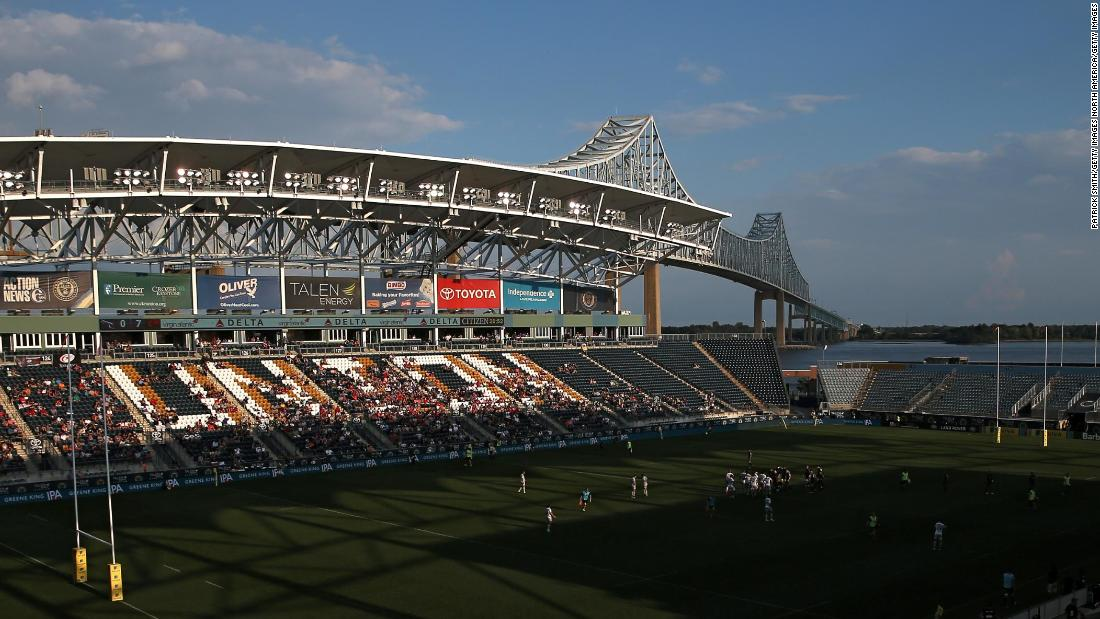 Crowds were significantly thinner when English Premiership sides Saracens and Newcastle Falcons moved a league game to the USA last year. There were 6,271 fans in the 18,500-seat Talen Energy Stadium in Chester, Pennsylvania.