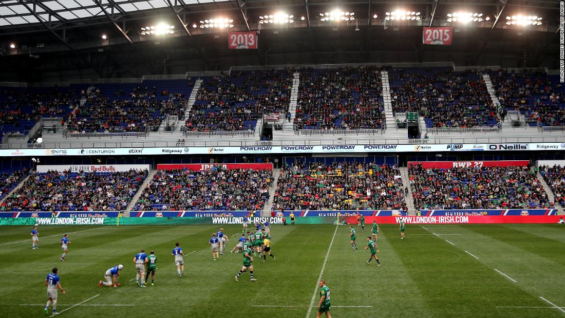 That was the second time a Saracens game has been moved state-side. Just over 14,000 saw the North London outfit defeat London Irish at New Jersey's Red Bull Arena.