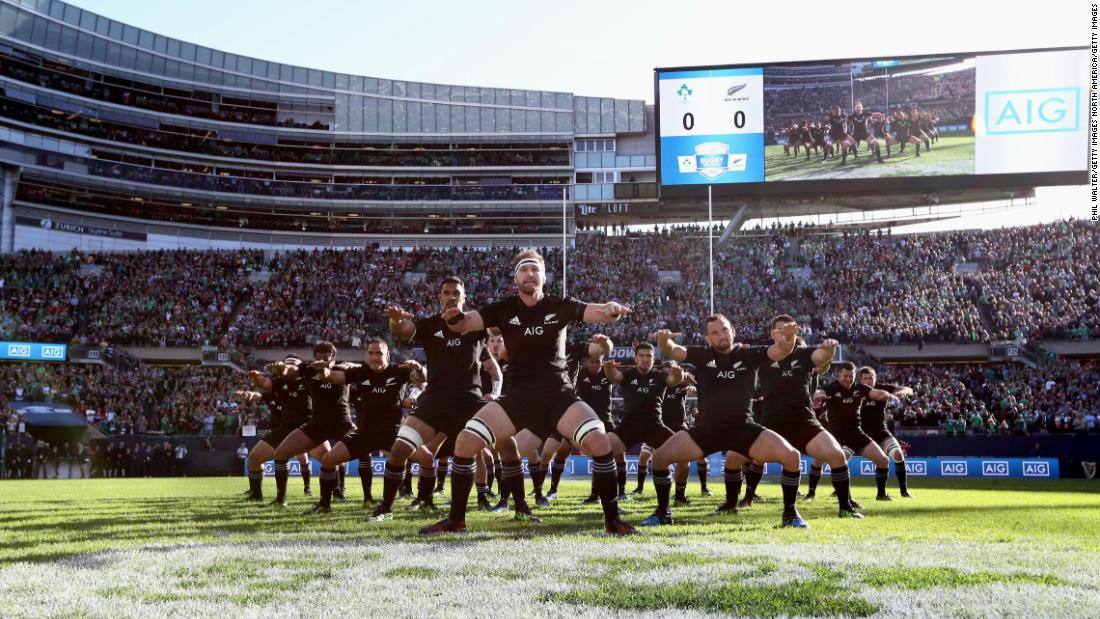 "The two sides aren't the first tier one nations to stage a match in the USA. The All Blacks faced Ireland in front of <a href=""https://edition.cnn.com/2016/11/05/sport/rugby-soldiers-field-ireland-all-blacks/index.html"">a sold-out crowd at Chicago's Soldier Field</a> in November 2016."