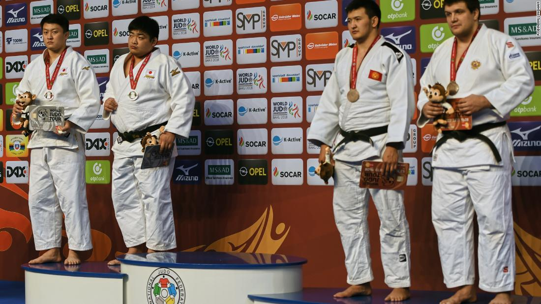 "The ensuing medal ceremony was as unconventional as the outcome. Of the four men on the podium, not one stood atop it. ""I was sad,"" former world champion Loretta Cusack-Doyle told CNN Sport. ""For me it was an anticlimax to what was a wonderful weekend of judo that was positive and exciting to watch.""<br />"