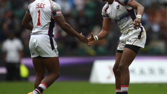 His 170 tries mean Baker is the top try-scorer in US rugby sevens history ahead of teammate Carlin Isles, who is third on the list.