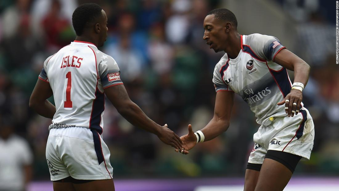 His 158 tries mean Baker is the top try-scorer in US rugby sevens history ahead of teammate Carlin Isles, who is third on the list.