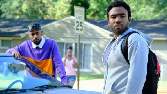 """Lakeith Stanfield stars as Darius and Donald Glover as Earnest Marks on the FX series """"Atlanta."""""""