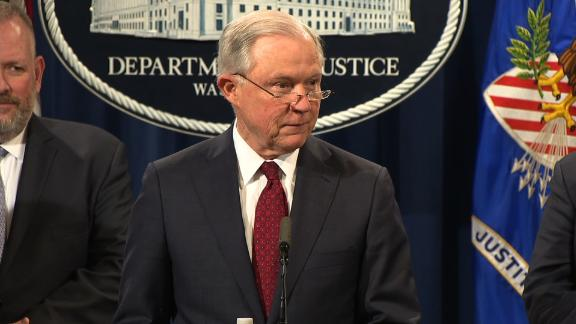 AG Sessions Opioid Announcement from DOJ at   WASHINGTON -- Attorney General Jeff Sessions and other law enforcement officials will hold a press conference Tuesday, February 27, 2018 to reveal a new opioid policy announcement.  WHO Attorney General Jeff Sessions; Acting DEA Administrator Robert W. Patterson; Department of Justice Opioid Coordinator Mary Daly; Ohio Attorney General Mike DeWine; West Virginia Attorney General Patrick Morrisey; Wisconsin Attorney General Brad Schimel; Pennsylvania Attorney General Josh Shapiro. WHAT Attorney General Jeff Sessions and other law enforcement officials will hold a press conference to deliver new opioid policy announcement.