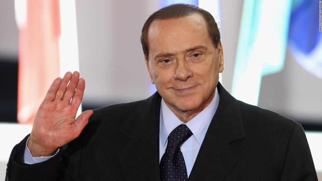 Berlusconi attends the G20 summit in Cannes, France, in November 2011.