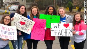 The West Virginia teachers have launched a movement