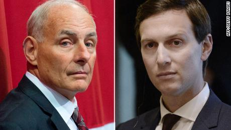 Kelly, Kushner tension simmers amid West Wing uncertainty