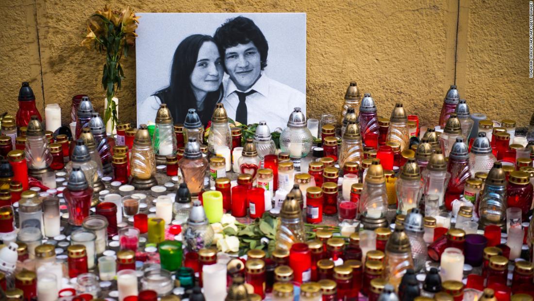 Slovak leader offers a $1.2 million reward for information in case of murdered journalist
