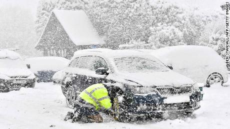 "A blast of Siberian weather dubbed ""The Beast from the East"" has sent temperatures plunging across much of Europe."